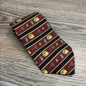 Tommy Hilfiger Fly Fishing Fisherman Stripe Tie